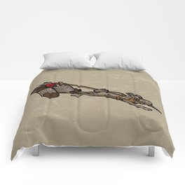 The Nut Express Comforters