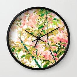 Spring Blossoms (1) Wall Clock