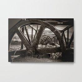 Dam Gears Metal Print