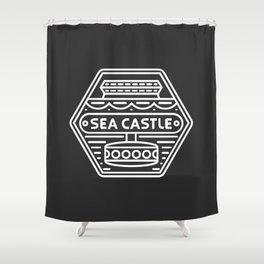 Sea Castle Shower Curtain