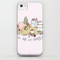 let me eat cake Slim Case iPhone 5c