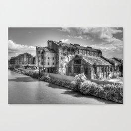 Bakers Wharf Canvas Print