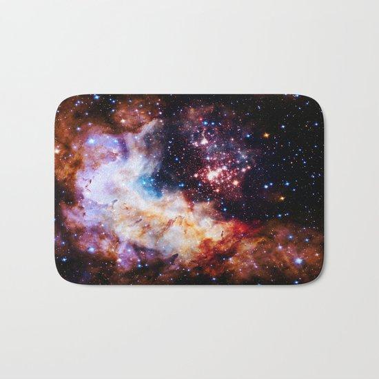 gALaxy : Celestial Fireworks Bath Mat