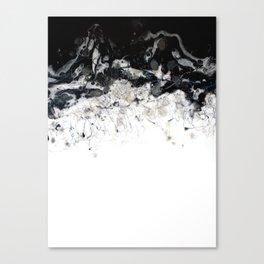 Minimalist Confetti Abstract Artwork Canvas Print