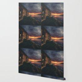 New Mexico Lake Sunset Wallpaper