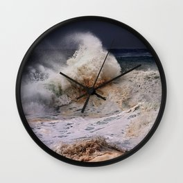 Monster Waves At Pipeline .2 Wall Clock
