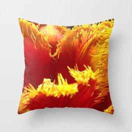 natures fingers Throw Pillow