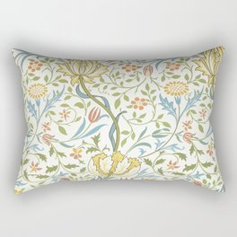 William Morris Flora Rectangular Pillow