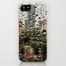 nobody, not even the rain iPhone Case