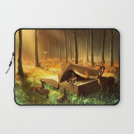 A safe place where you can go Laptop Sleeve