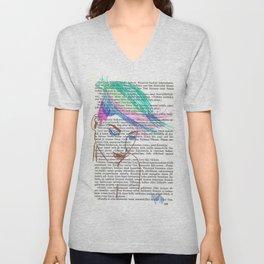Parrot Hair Unisex V-Neck