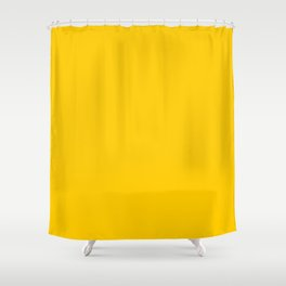 color for pattern 8 (#FFCB00-gold) Shower Curtain