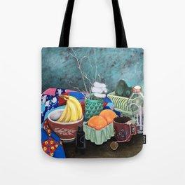 Nanny's Quilt Tote Bag