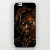 sam winchester iPhone & iPod Skins featuring Sam Winchester by Sarah Sangelus