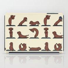 Dachshund yoga iPad Case