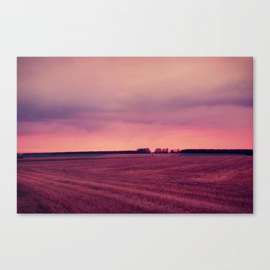 summer end Canvas Print
