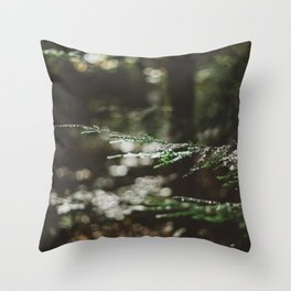 Forest Dark, Forest Deep Throw Pillow