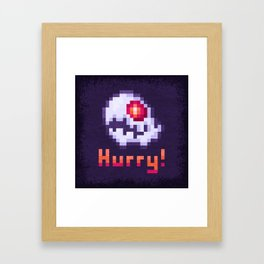 Hurry Von Death Ghost Framed Art Print