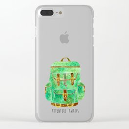 Backpack Adventure Clear iPhone Case