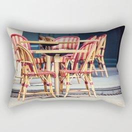 Paris Cafe - Paris, France Rectangular Pillow