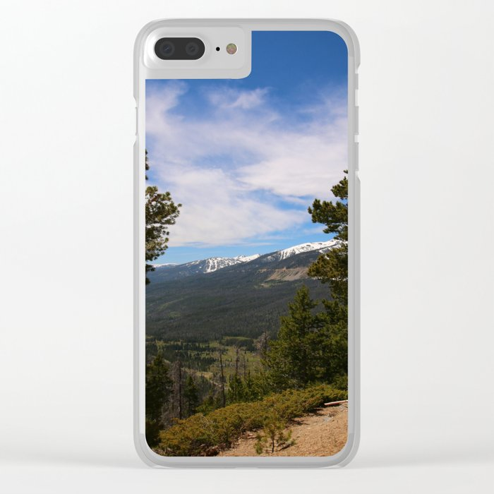 Rocky Mountain National Park View Clear iPhone Case
