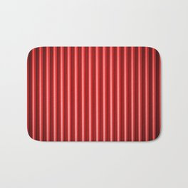 Abstract background blur motion red curtain Bath Mat