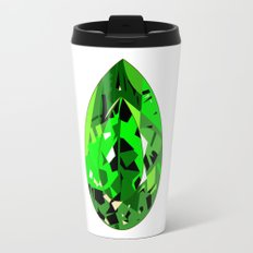 GEMS - green , expensive look , luxury and shine Travel Mug