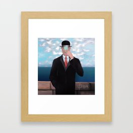 Son of Woman  Framed Art Print