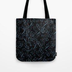 red dot branches Tote Bag