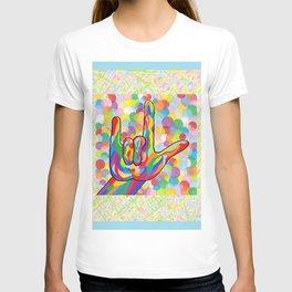 ASL I Love You for Baby Boy Nursery T-shirt