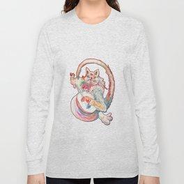 Cat Music Long Sleeve T-shirt