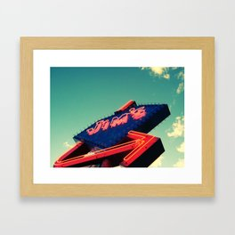 Diamond Jim's Framed Art Print