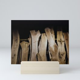 Wood Slabs Mini Art Print