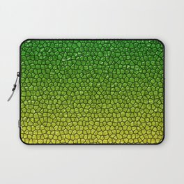 Green/Yellow Reptile Skin Laptop Sleeve