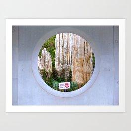 Dimensionality Art Print