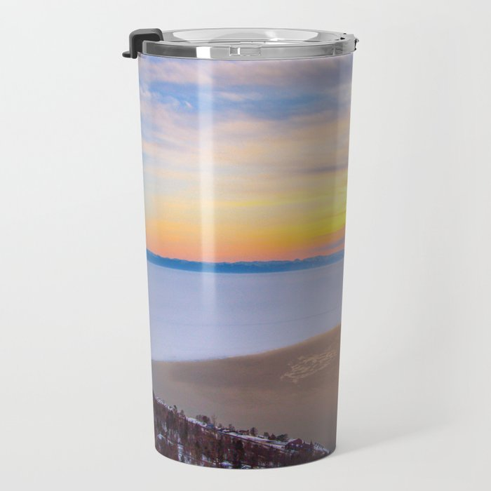Lake Baikal and Angara River Travel Mug