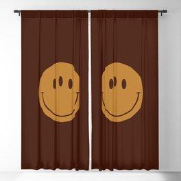 3rd Eye Smiley Face Blackout Curtain