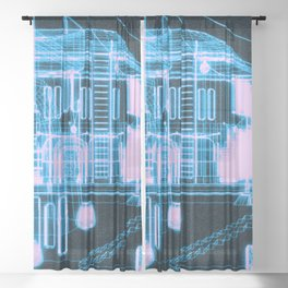 RF295 Town Z47 - WIRE Sheer Curtain