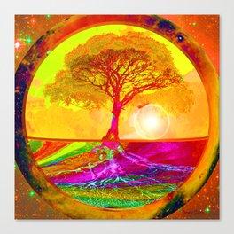 Tree of Life Sunrise Canvas Print