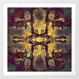 Abstract C2 Art Print
