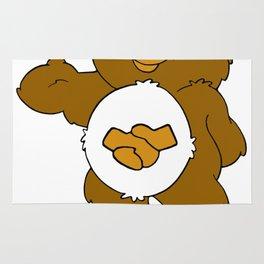 Casual Acquaintance Bear Rug