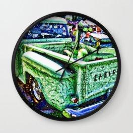 An Old Pickup Truck 4 Wall Clock