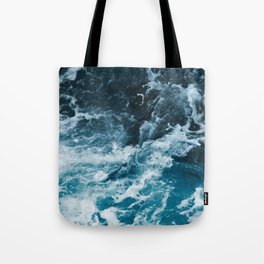 Tumultuous Seas Tote Bag
