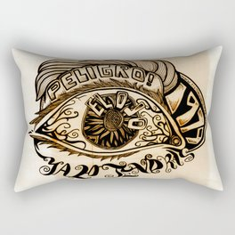 El Ojo Rectangular Pillow