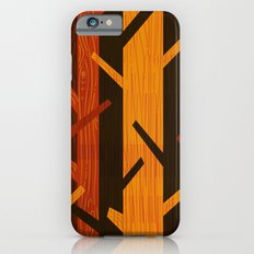 Retro Fall Woods by Friztin Slim Case iPhone 6s