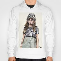 ben giles Hoodies featuring Cara for Giles 14/15 by vooce & kat