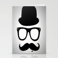 gentleman Stationery Cards featuring Gentleman by Amy Copp