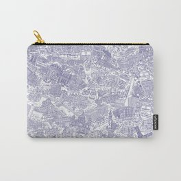 Illustrated map of Berlin-Mitte. Ink pen design Carry-All Pouch