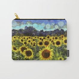 Sunflowers Van Goth Carry-All Pouch