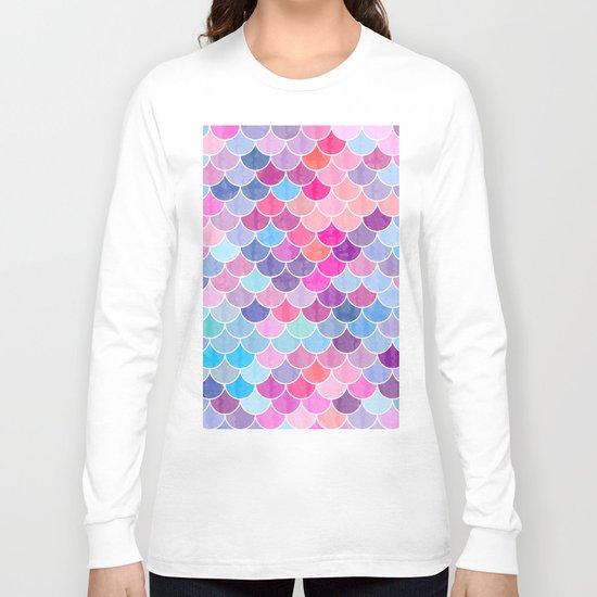 Watercolor Lovely Pattern VIV Long Sleeve T-shirt